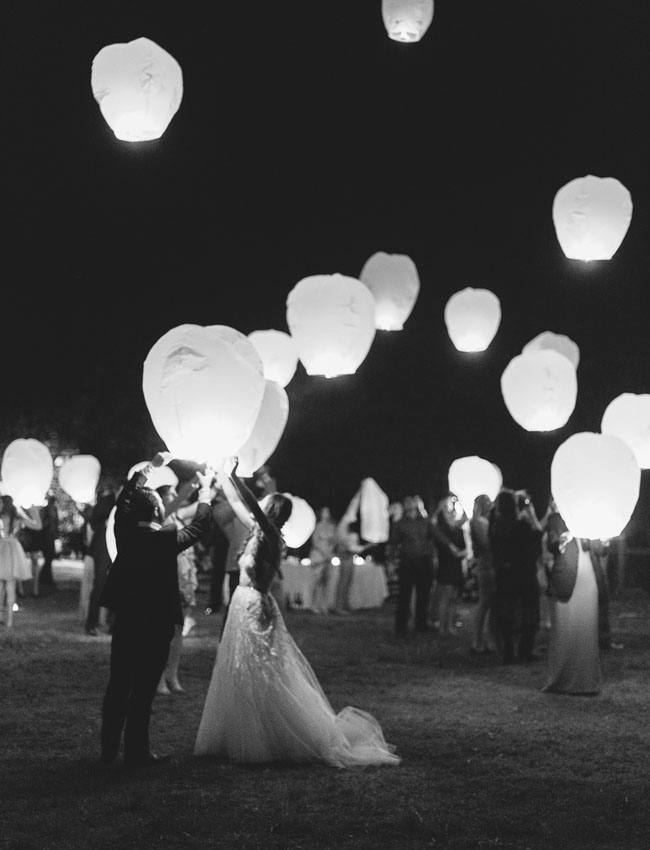 wishing lanterns