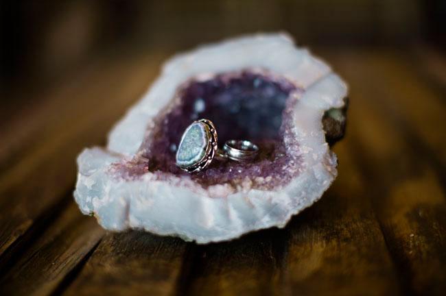 rings in geode