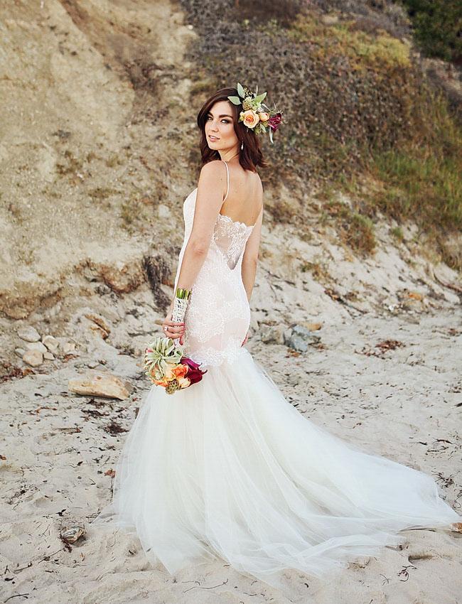 summer beach lace dress