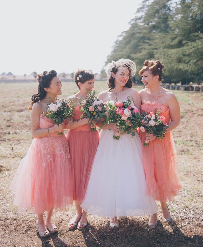 vintage pink dresses