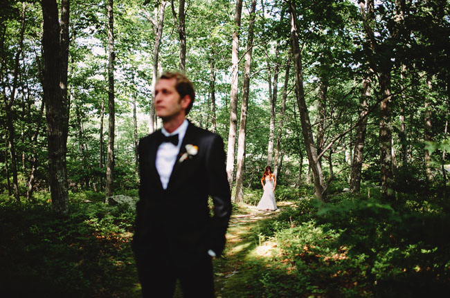 wes anderson wedding first look