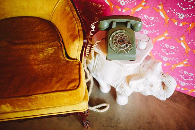 vintage mint phone