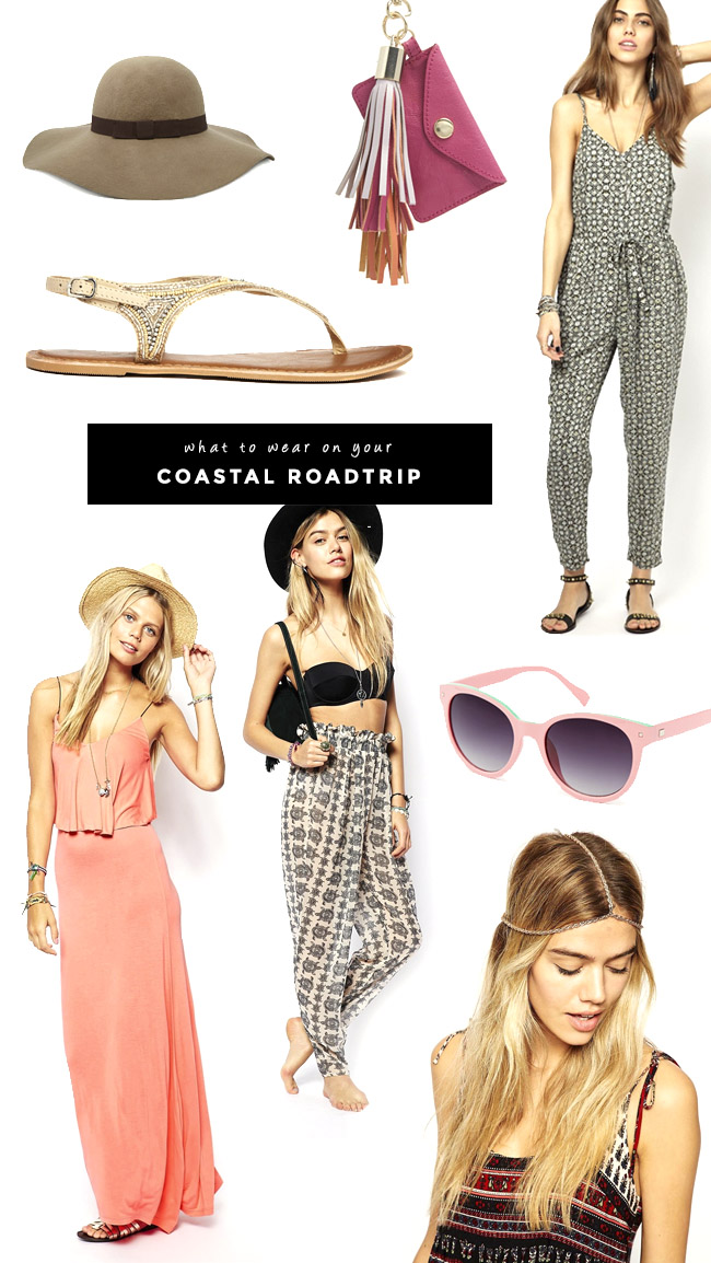 what to wear on your cali coastal roadtrip