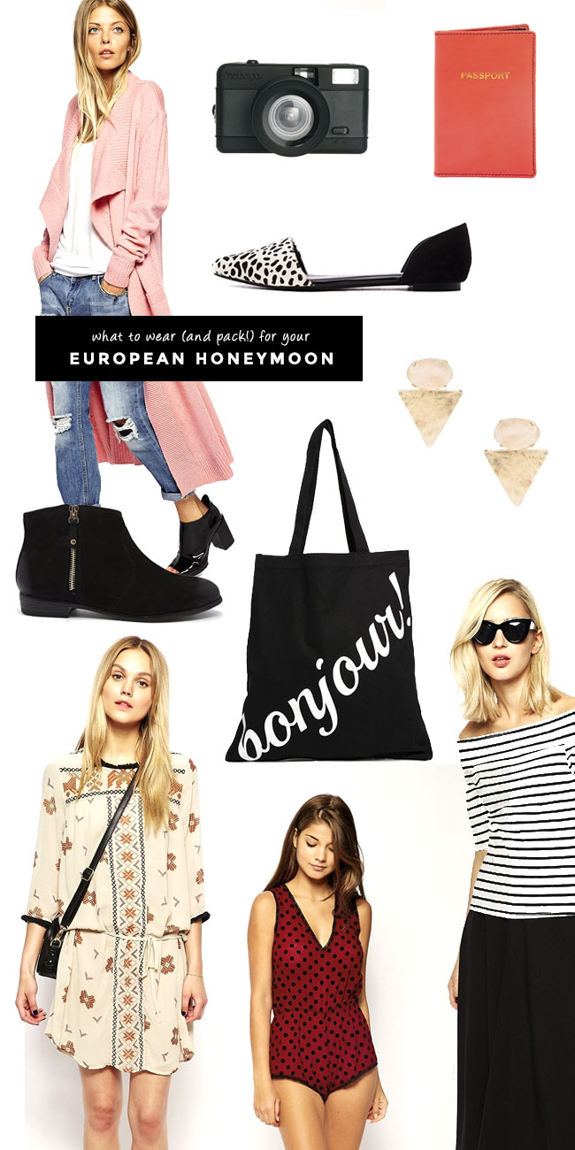 what to wear (and pack!) for your European Honeymoon
