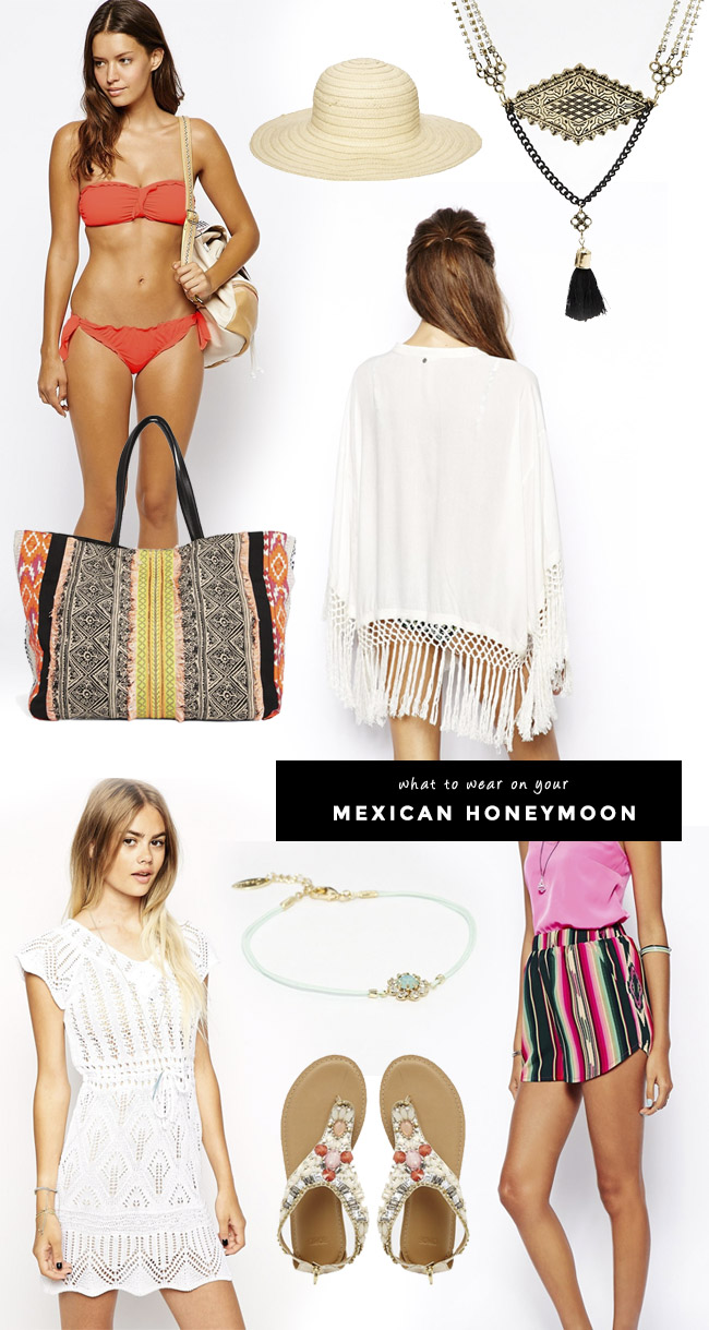 What to Wear on your Mexican Honeymoon