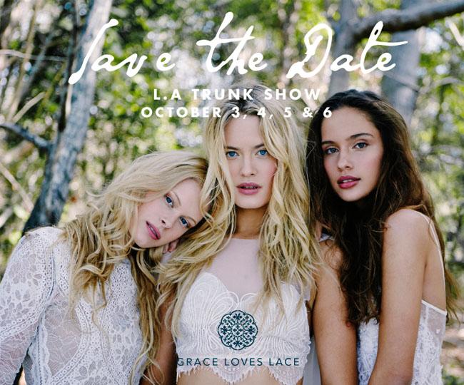 Grace Loves Lace LA Trunk Show