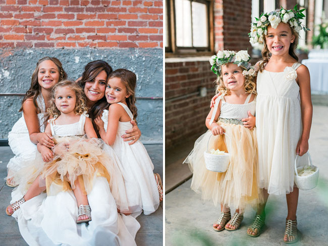 tulle flower crown girls