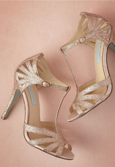 stardust heels   green wedding shoes