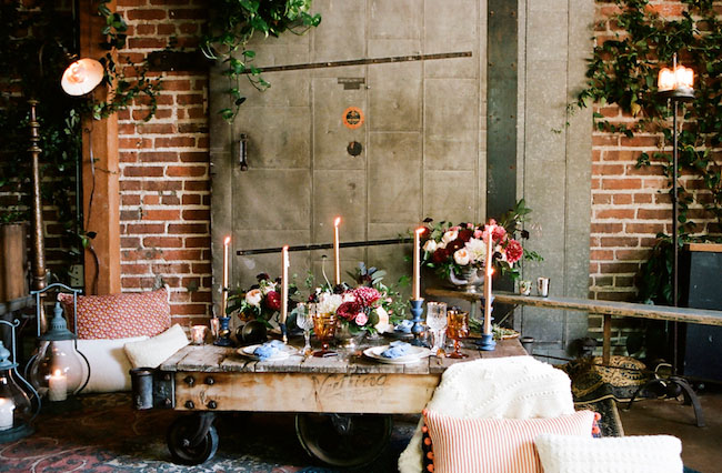 industrial dinner party