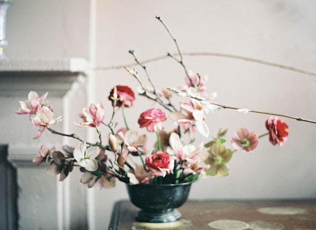 loose branch florals