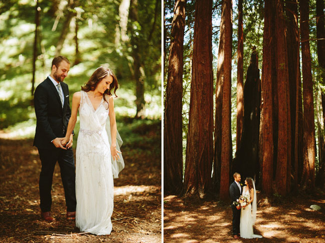 Gorgeous Nature Inspired Big Sur Wedding: Robin + Shah