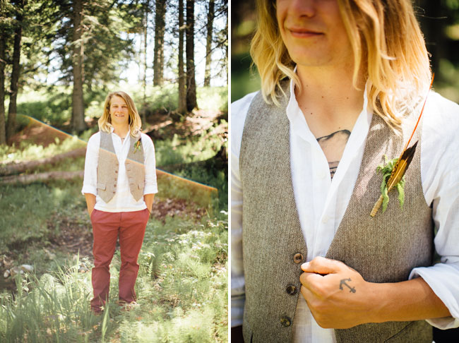 forest boutonniere