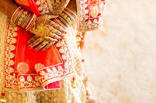 indian wedding attire