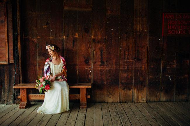 rustic rileys farm bride