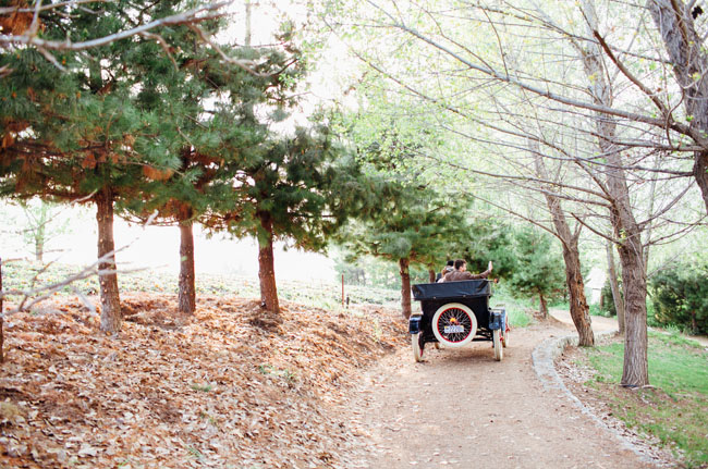 model t getaway car