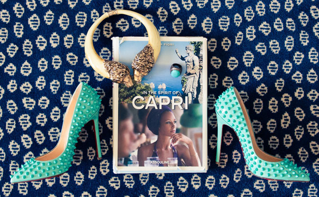 capri wedding details