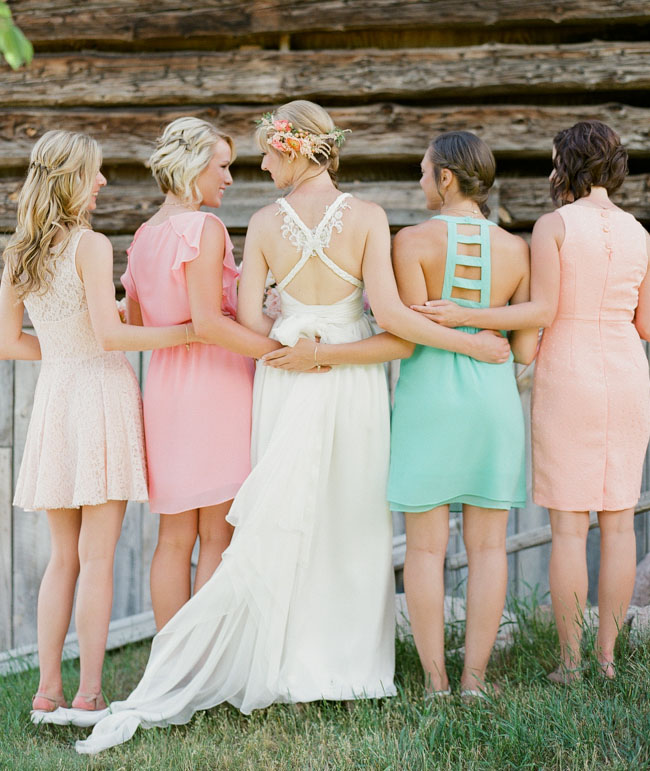 pretty backed dresses