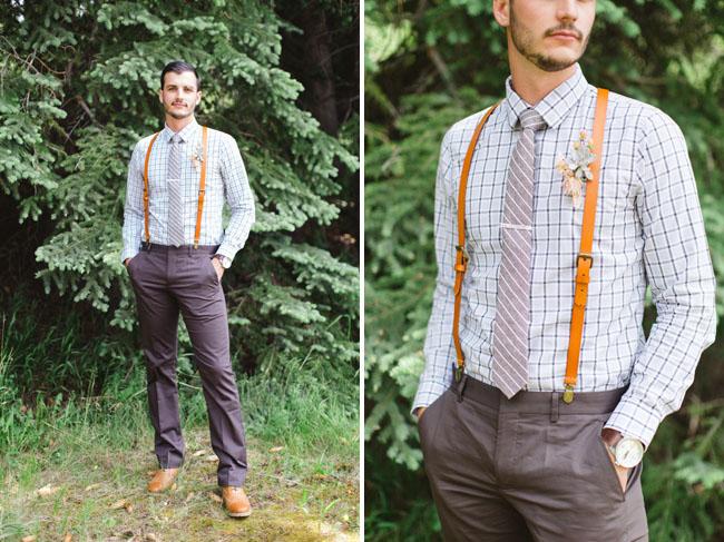 stylish colorado groom