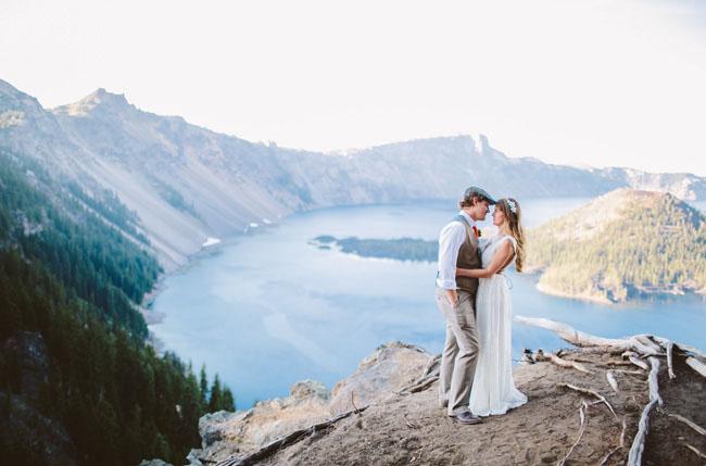 crater lake elopement