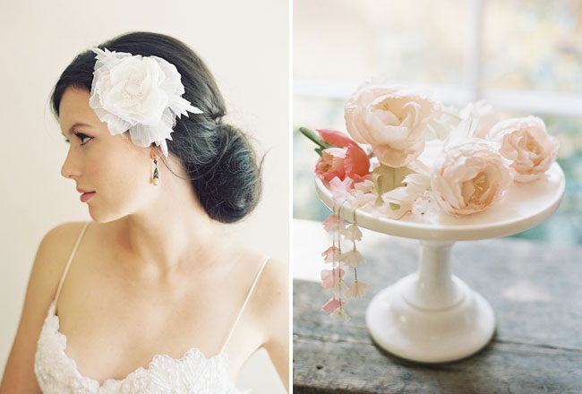 flower hair pieces