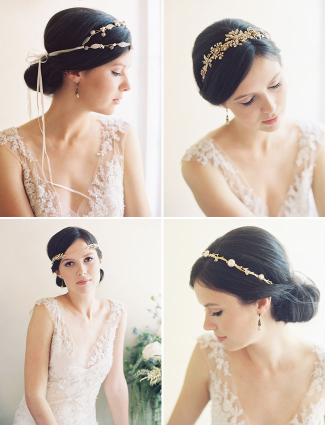 jeweled hair pieces