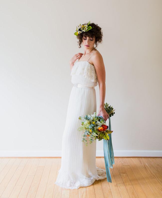 garden inspired bride