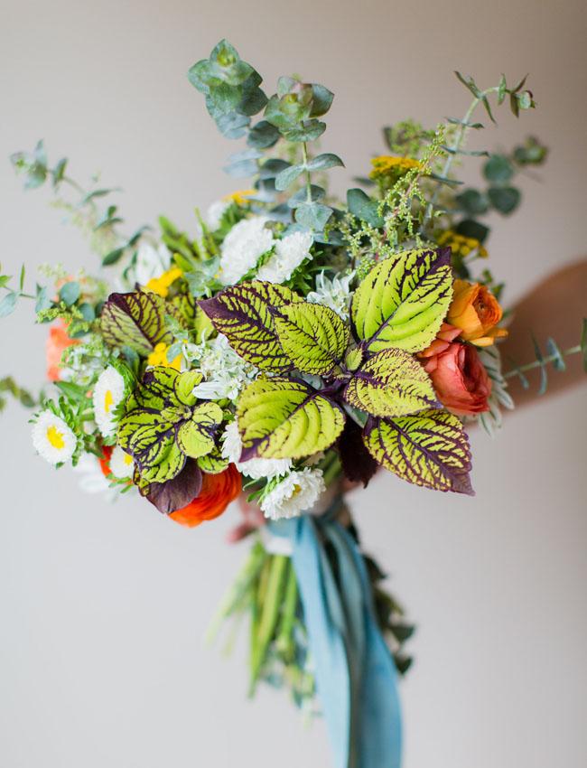 garden inspired bouquet