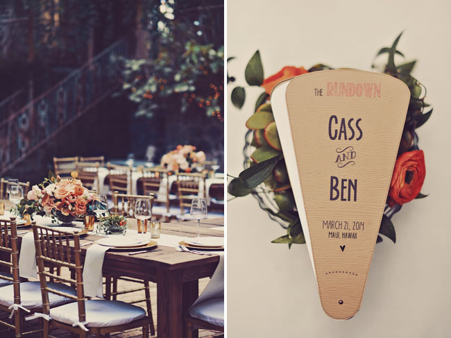 custom wedding fan