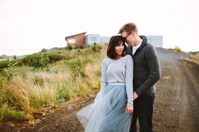 blue tulle engagement skirt