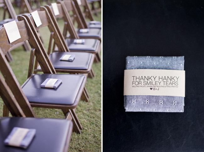 ceremony handkercheifs