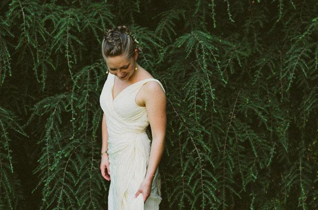 braided bridal hair
