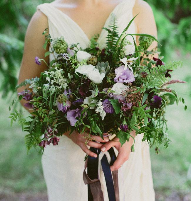 lush organic bouquet