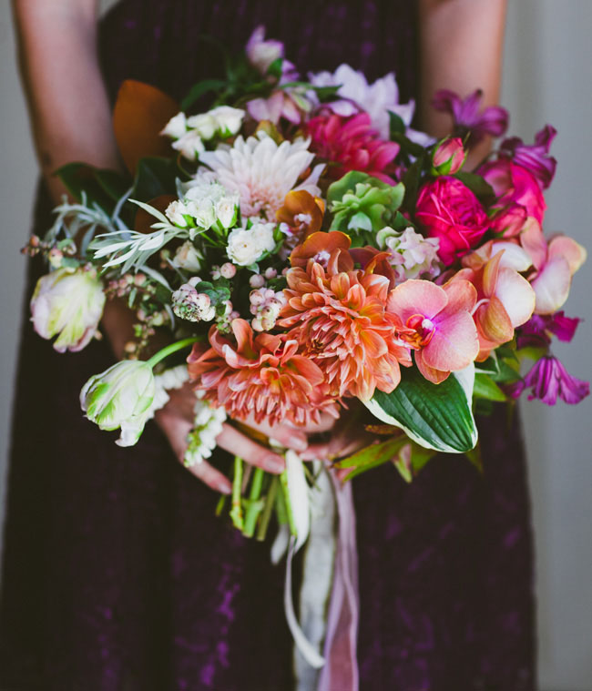 bright and whimsical bouquet