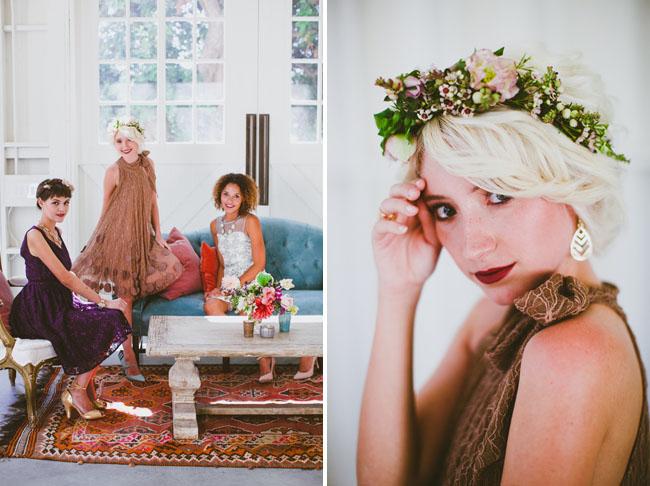 bridesmaid lounge
