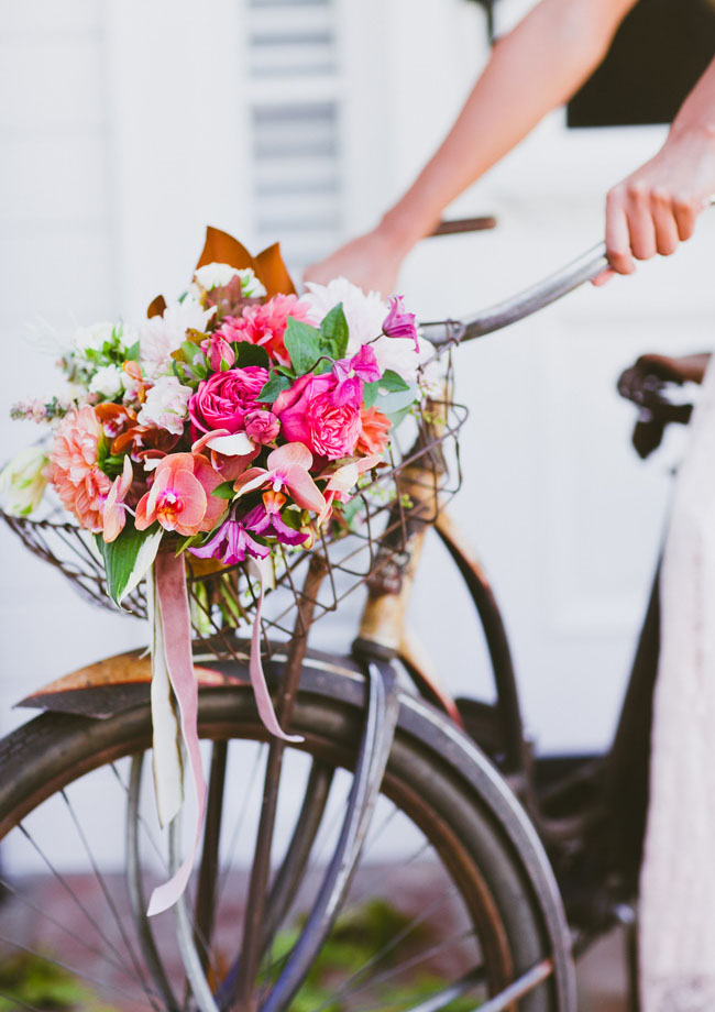 bicycle florals