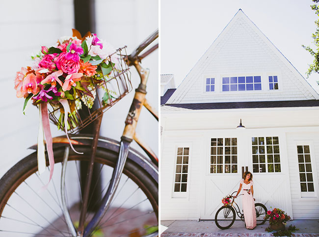 bicycle florals