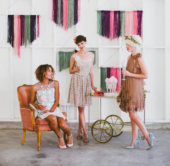 yarn hanging lounge