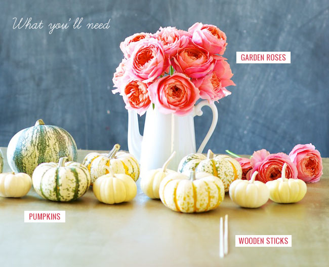 pumpkin diy materials