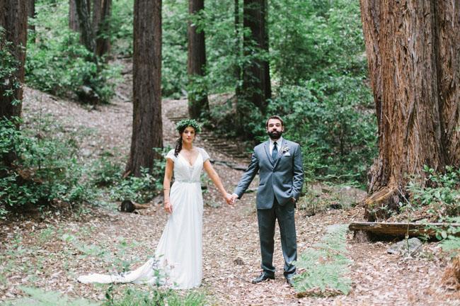 Magical Redwood Forest Wedding Molly Leland
