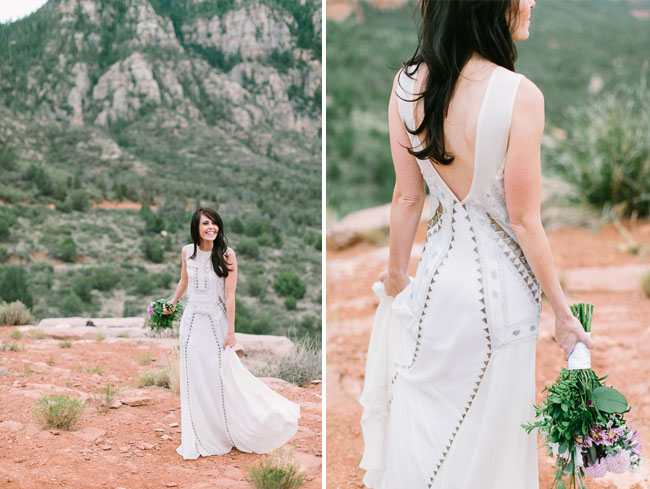 Mara Hoffman wedding dress