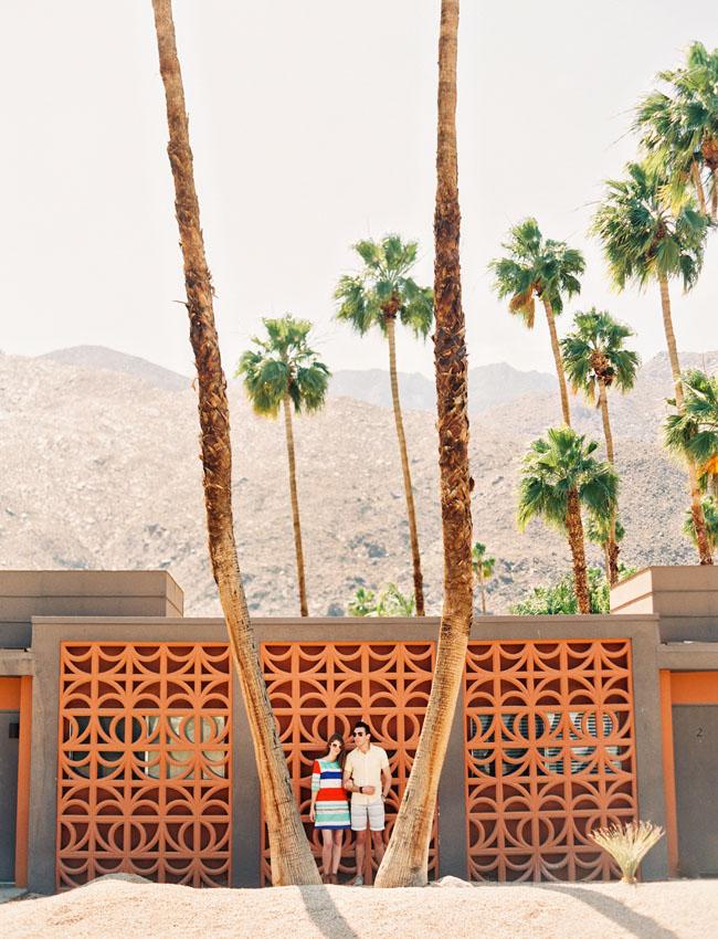 Studio DIY desert engagement