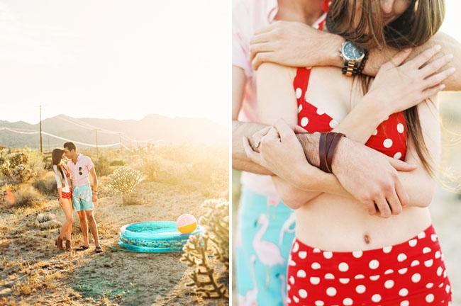 desert mini pool engagement