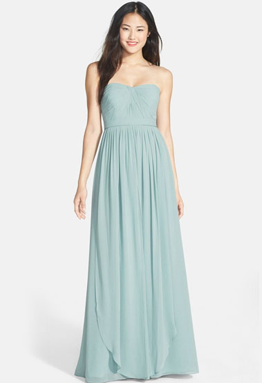 Kendall Maxi Dress In Green Wedding Shoes Floral Green