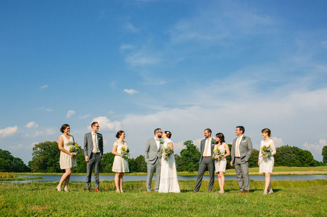 Mississippi wedding party