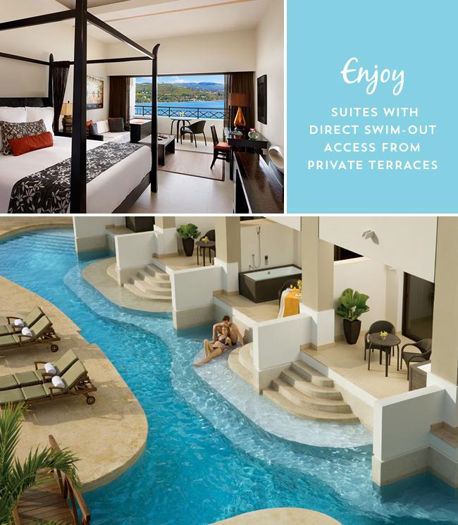 Swim out suites