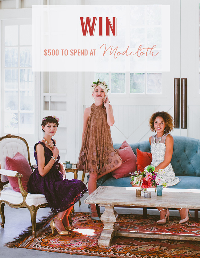 Win $500 from Modcloth
