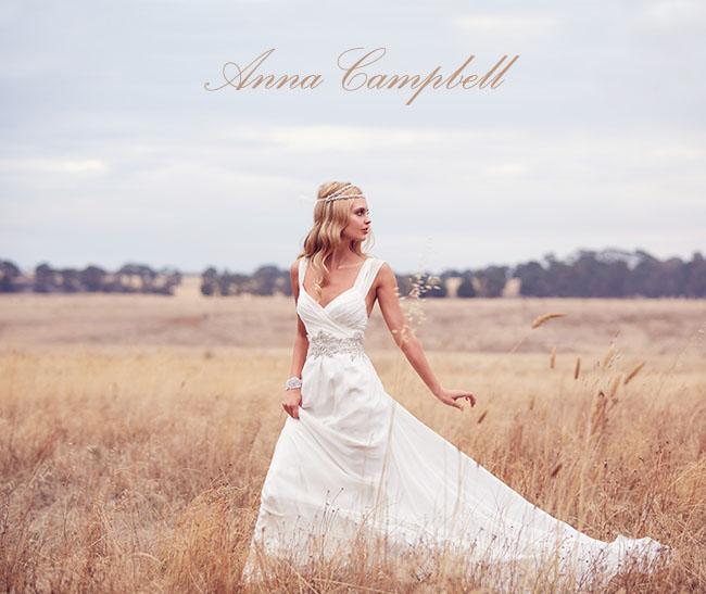 Anna Campbell wedding dresses
