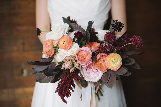 autumn inspired bouquet