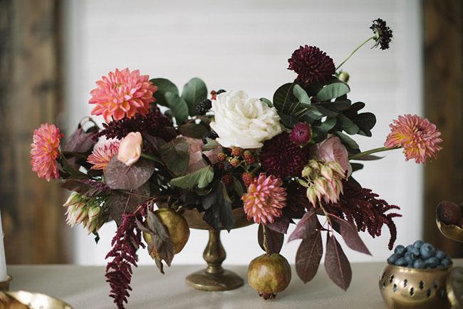 autumn inspired centerpiece