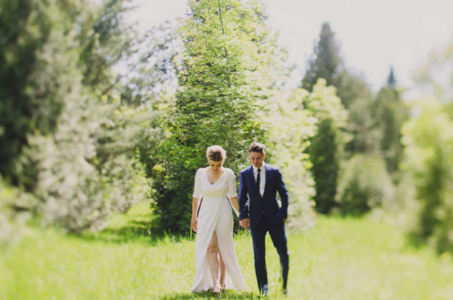 backyard Toronto wedding